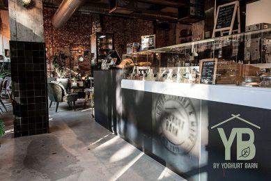 Yoghurt Barn wordt YB. Foto: YB