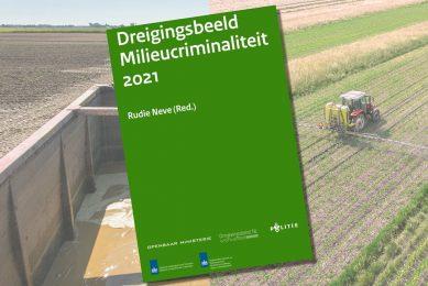 Afbeelding: Canva, Koos Groenewold en rapport Dreigingsbeeld Milieucriminaliteit