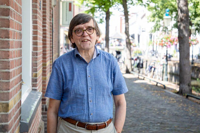 Bert van den Berg, programmamanager veehouderij bij de Dierenbescherming. Foto: Herbert Wiggerman