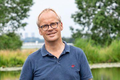 Michaël Wilde is directeur van Bionext. - Foto: Herbert Wiggerman