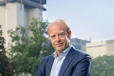 Yoram Knoop, CEO van ForFarmers, wil met innovaties zoeken naar oplossing voor stikstofcrisis. - Foto: Jan Willem Schouten