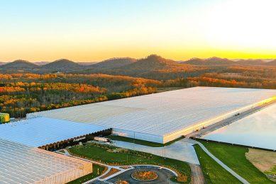 Kentucky kent geen tuinbouwtraditie. Maar AppHarvest bouwt er op vijf locaties hypermoderne kassen. - Foto's: AppHarvest