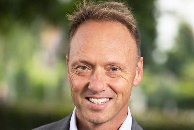Hein Schumacher (1971) is sinds januari 2018 ceo van FrieslandCampina/ - Foto: Herbert Wiggerman