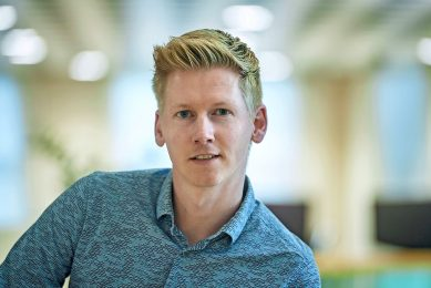 """Frank van den Boomen: """"Er bestaat geen blauwdruk voor ondernemers in de korte keten."""" - Foto: Wouter van Assendelft"""