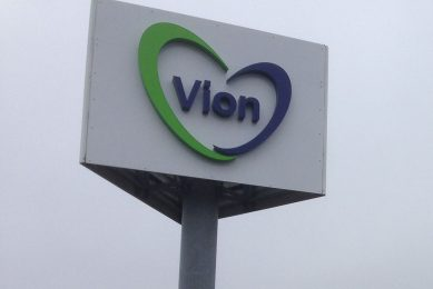 Vleesconcern Vion verlaagt zijn basisprijs voor vleesvarkens deze week met 6 cent naar €1,40 per kilo geslacht gewicht.  - Foto: Misset