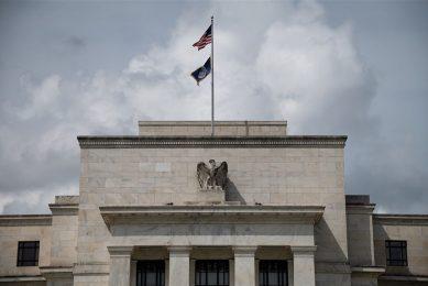 Het gebouw van de Federal Reserve in Washington. Het merendeel van de Fed-bestuurders vindt dat de doelen wat betreft inflatie zijn bereikt. - Foto: ANP