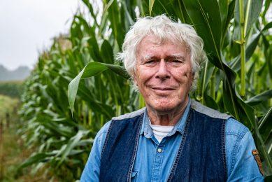 """Henk Boom: """"Ik heb zoveel over dit prachtige voedselgewas ontdekt dat ik een trilogie had kunnen schrijven."""" Foto: Ronald Hissink"""