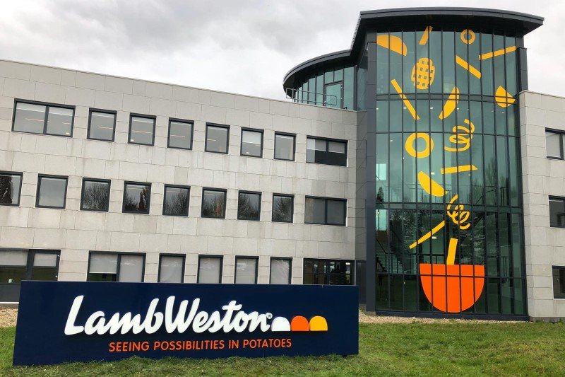 Koers Lamb Weston daalt ondanks herstel na corona