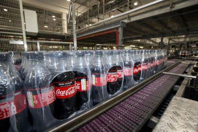 Fabriek Coca-Cola in Dongen. Foto: ANP