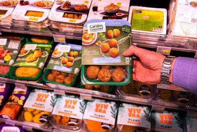 Garden Gourmet biedt vegetarische producten voor het koelschap. - Foto: ANP
