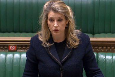 De Britse onderminister voor financiën Penny Mordaunt heeft het uitstel bevestigd in een brief aan het parlement. - Foto: ANP