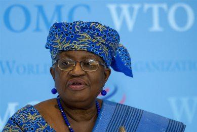 Ngozi Okonjo-Iweala, directeur van de wereldhandelsorganisatie WTO. - Foto: ANP