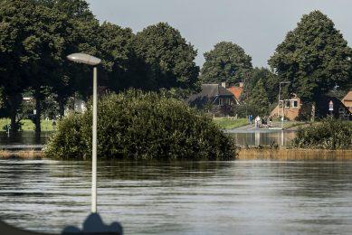 Het kabinet gaat kijken naar het beleid ten aanzien van wateroverlast en waterveiligheid. - Foto: ANP