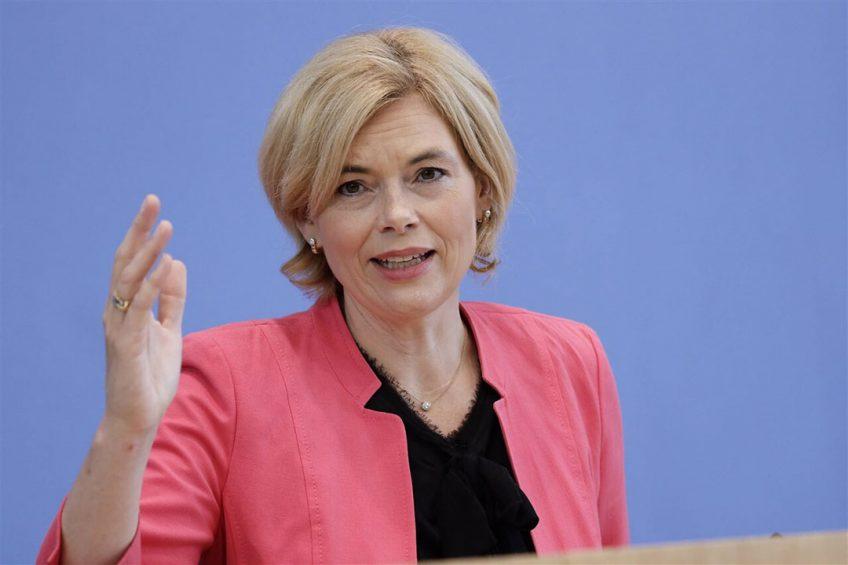 Minister Julia Klöckner van landbouw en voedselvoorziening zat niet stil tijdens de afgelopen regeringsperiode. Foto: ANP
