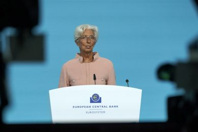 Christine Lagarde, voorzitter van de Europese Centrale Bank (ECB). -  Foto: Ronald Wittek