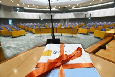 De Minister van Financien Wopke Hoekstra heeft dinsdagmiddag 21 september de Rijksbegroting aangeboden aan de Tweede Kamer. De Miljoenennota is de begroting voor het komende jaar.  - Foto: ANP