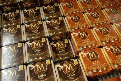 Ook de Magnum-ijsjes van Unilever zijn onderdeel van de kritiek in China. Foto: ANP