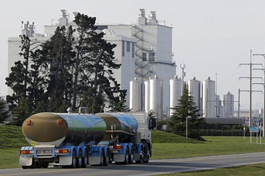RMO op weg naar een productielocatie van Fonterra in Nieuw-Zeeland. - Foto: ANP