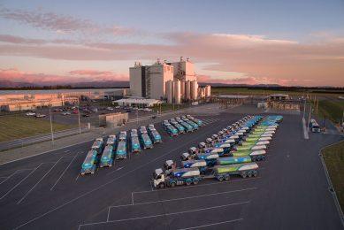 Fonterra omzeilt te logistieke problemen via een deelname in de logistieke joint venture Kotahi. - Foto: Fonterra