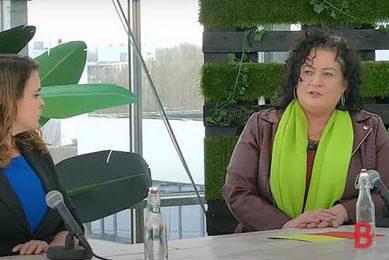 Caroline van der Plas (BoerBurgerBeweging) zei tijdens het Boerderij-verkiezingsdebat op 8 maart 2021 dat aardappelen wel eens drie keer zo duur kunnen worden als de EU-toeslagen verdwijnen. - Foto: Misset