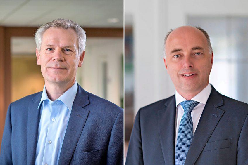 Gert Sikken van Cosun en Arjan de Rooij. - Foto's: Peter Roek en Peter Tahl