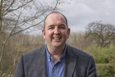 """Vicevoorzitter Simon Smith van NFU Sugar tegen de Britse suikerbietentelers: """"Zorg ervoor dat je materieel aan alle eisen voldoet en dat ook de verzekering en andere papieren in orde zijn."""" - Foto: NFU"""