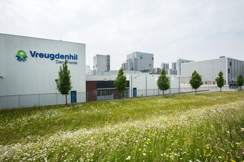Melkpoederfabriek Vreugdenhil Dairy Foods in Gorinchem. - Foto: Herbert Wiggerman