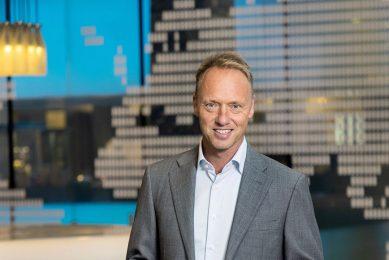 CEO Hein Schumacher van FrieslandCampina. - Foto: Herbert Wiggerman
