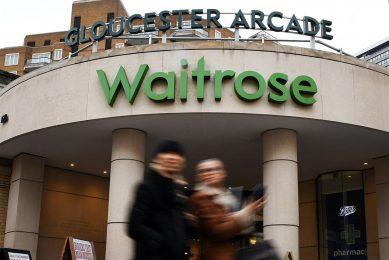 Een vestiging van Waitrose in Londen. - Foto: ANP