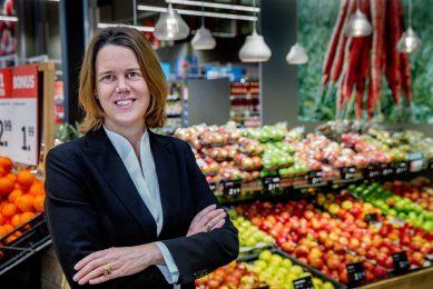 Marit van Egmond, CEO van Albert Heijn. - Foto: ANP