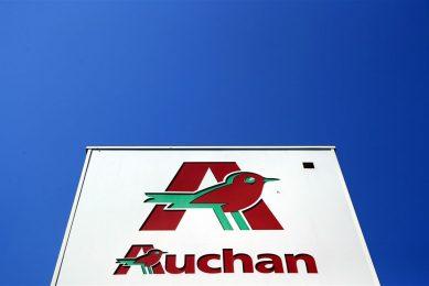 Carrefour, ook één van de grootste supermarktbedrijven ter wereld, vindt de voorstellen van de eigenaren van Auchan niet aanvaardbaar. Foto: ANP