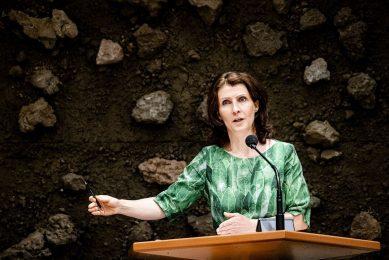 Esther Ouwehand is sinds november 2006 Kamerlid voor de Partij voor de Dieren en sinds oktober 2019 fractievoorzitter in de Tweede Kamer. - Foto: ANP