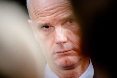Demissionair minister Stef Blok van Economische Zaken en Klimaat.- Foto: ANP