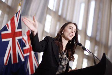 """""""Dit is een enorme deal"""", onderstreept premier Jacinda Ardern van Nieuw-Zeeland. Foto: ANP"""