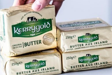 Ornua verkoopt 10 miljoen pakjes Kerrygold-boter per week in de VS. - Foto: ANP