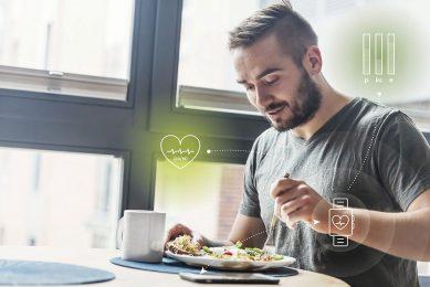 Gepersonaliseerde voeding is een op wetenschap gebaseerde dienst. Op digitale platforms wordt een persoonlijke motivatie gecombineerd met allerlei data en daar rolt een voedingsadvies uit.