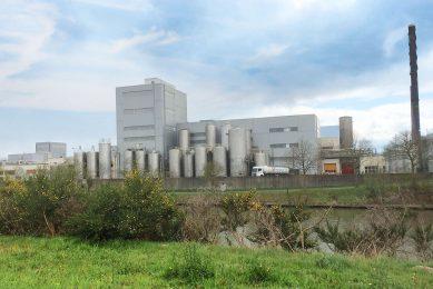De vestiging van FrieslandCampina in Aalter- Foto: RFC