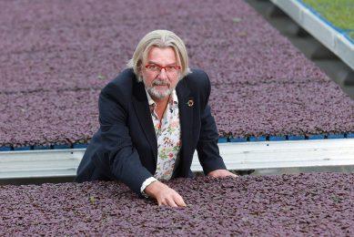 Rob Baan is directeur van Koppert Cress en Agrarisch Ondernemer van het jaar 2020. - Foto: Dennis Wisse