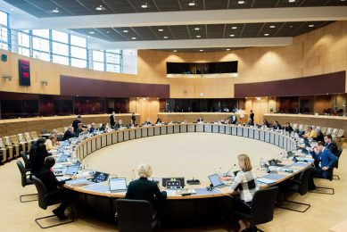 Bijeenkomst van de Europese Commissie. - Foto: Europese Commissie