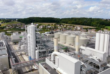 Bio-ethanolfabriek van CropEnergies in het Belgische Wanze. - Foto: CropEnergies