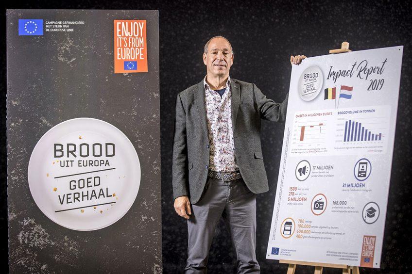 Frank Janssen, manager bij het Nederlands Bakkerij Centrum, vindt de campagne om brood te promoten belangrijk voor de bakkerijsector.