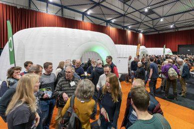 Sfeerbeeld van de Biobeurs 2020, in Zwolle. - Foto: Ruud Ploeg