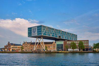 Kantoor van Unilever in Rotterdam. De totale omzet van het concern steeg 4% naar €13,5 miljard. - Foto: Canva