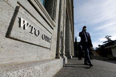 Kantoor van de Wereldhandelsorganisatie WTO in Geneve. - Foto: Reuters